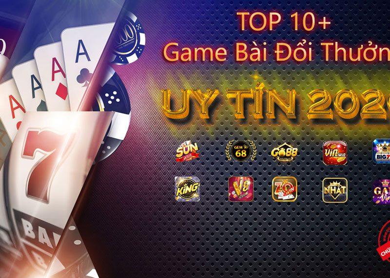 Top 5 trang chơi game bài đổi thưởng tốt số 1 Việt Nam